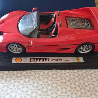 Maqueta coche coleccionismo - ferrari f50 (1995)