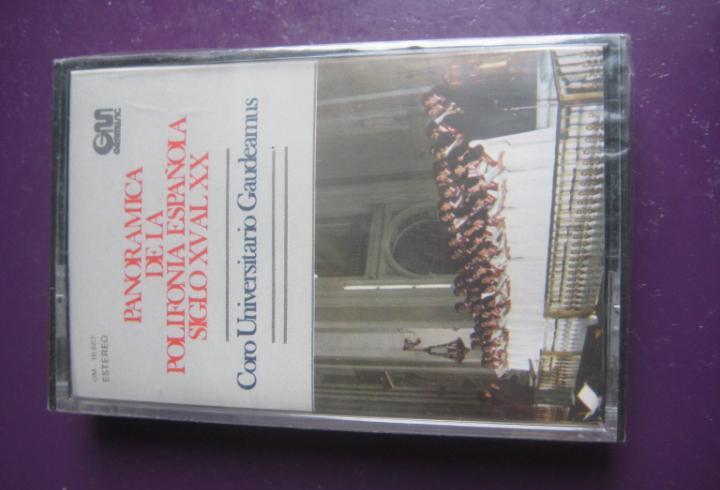 Panoramica de la polifonia española sg xv al xx casete