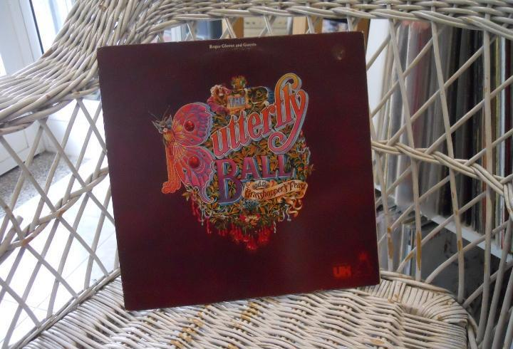 Roger glover and guests –the butterfly ball...lp