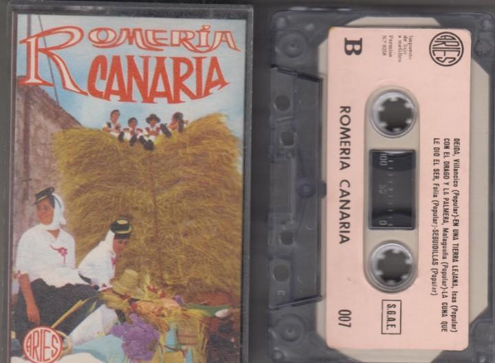 Romería canaria cassette folklore islas canarias
