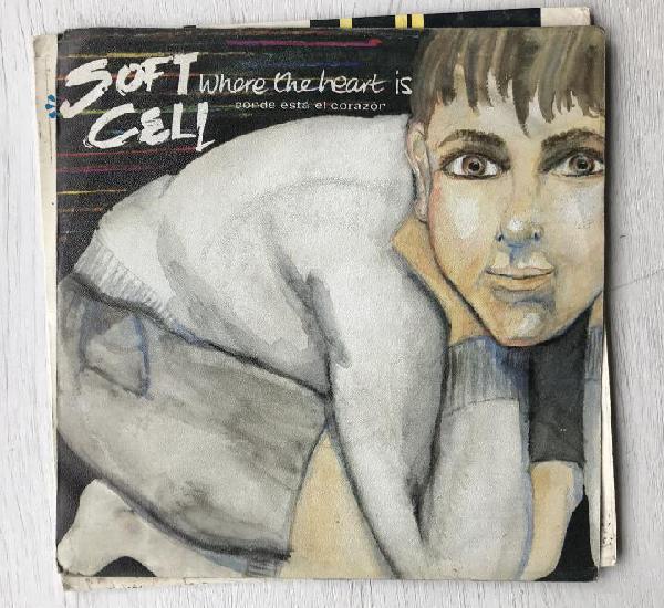 Soft cell - where the heart is - single vertigo spain 1983