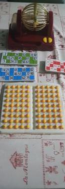 Juego de bingo a pilas