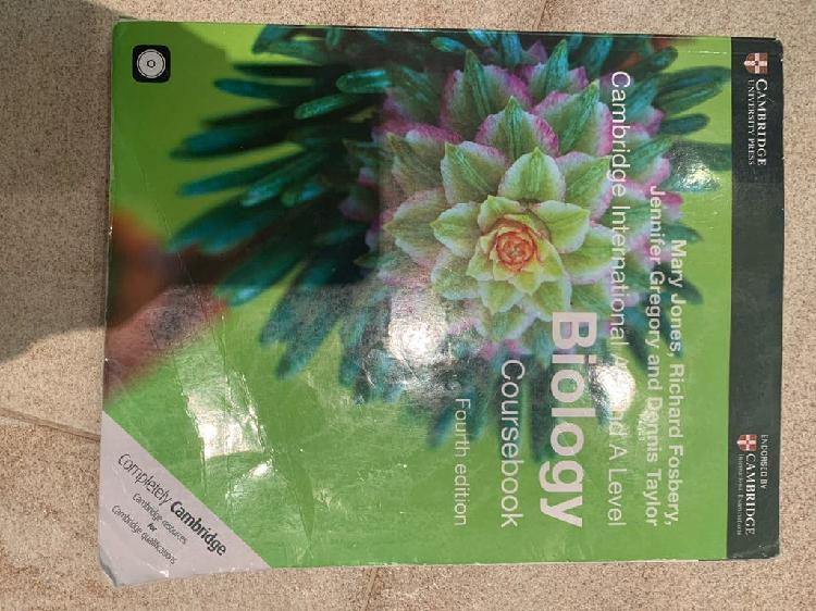 Biology cambridge as & a level year 12-13