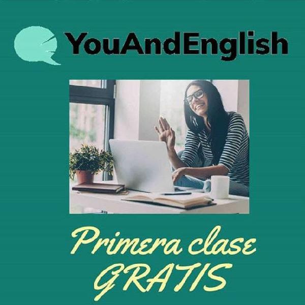 Clases particulares de inglés online 1 to 1