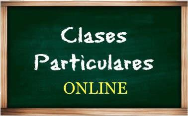 Clases particulares online individuales