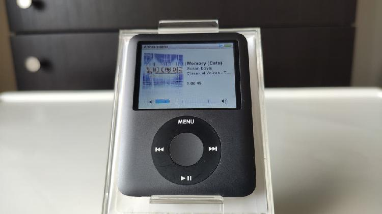Ipod nano 8gb + funda + cable + caja original