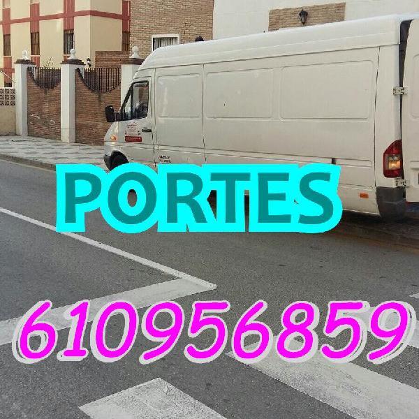 Portes, transportes y traslados low cost r