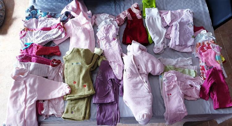 Lote ropa niña de 1 a 6 meses