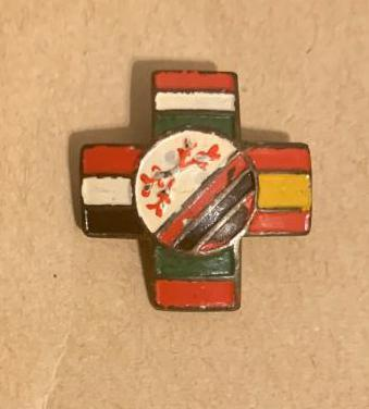 Guerra civil española. emblema patriotico