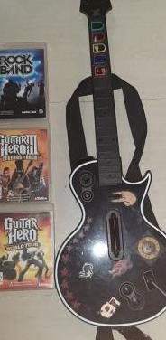 Guitarra ps3 juegos