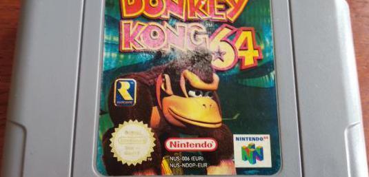 Juego donkey kong nintendo 64 buen estado