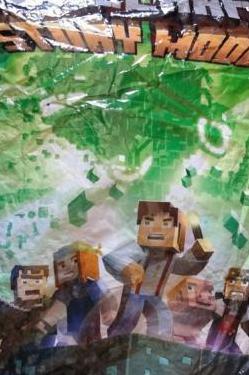 Minecraft - story mode - figuras piezas - nuevo