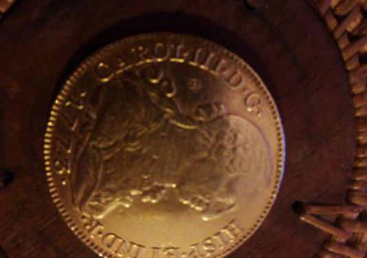 Moneda de oro 1773
