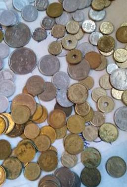 Monedas pesetas de caudillo de españa