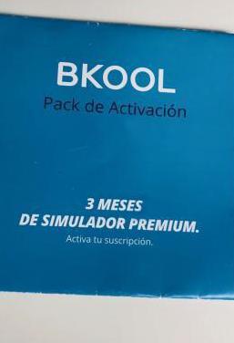 Suscripción 3 meses premium/unlimited bkool