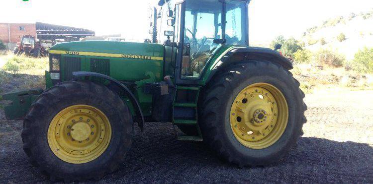 Venta de Tractor John Deere 7810 en Valladolid