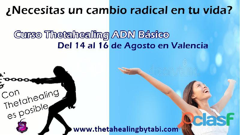 Curso de thetahealing basico en valencia