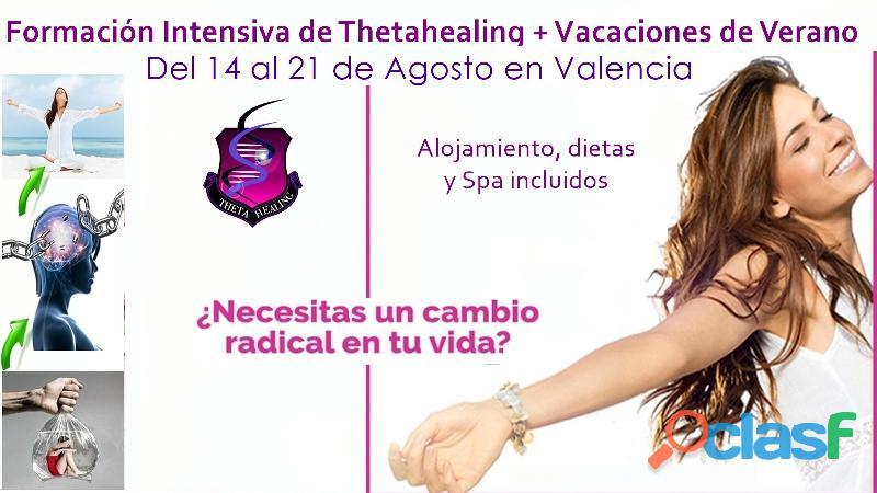 Formación de thetahealing completo + vacaciones en valencia