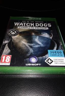 Watch dogs complete edition juego xbox one