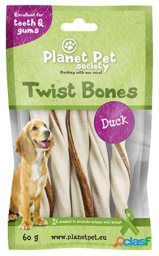 Planet pet snack rollito dental sabor a pato 130 gr