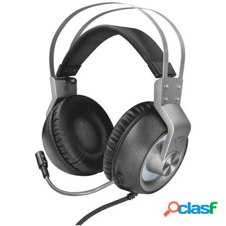 Auriculares con microfono trust gaming gxt 435 ironn 7.1 - drivers 50m