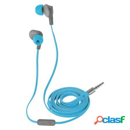 Auriculares impermeables trust urban aurus blue - drivers 10mm - micro