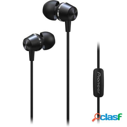 Auriculares intrauditivos pioneer se-ql2t-b negro - drivers 10mm - 4-2