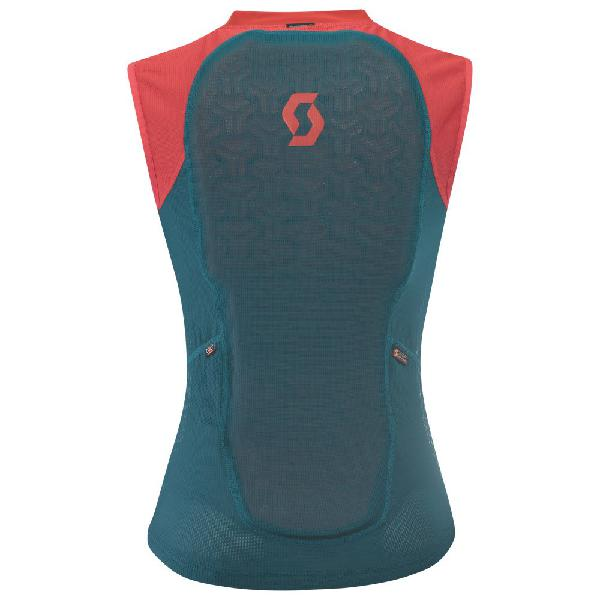 Light Vest Women's Actifit Plus Dragonfly Green Hibiscus Red