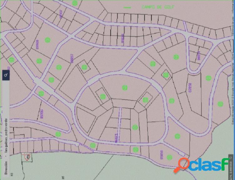 Parcelas varias diseminadas en la urbanización pedro verde, en la localidad de las gabias