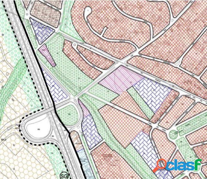 Terreno para vivienda unifamiliar extensiva en cortijo del aire (albolote)
