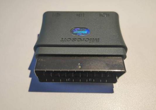 Adaptador convertidor xbox euroconector a 3rca