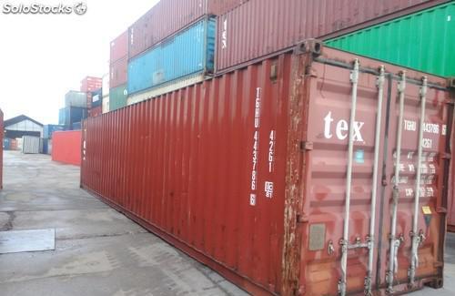 Contenedores marítimos de 12 metros andalucia