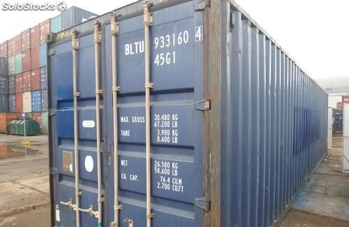 Contenedores marítimos de 12 metros valencia