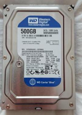 Disco duro sobremesa 500 gb