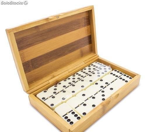 Dominio en caja de madera