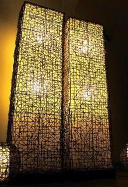 Iluminacion interior. seria de las lamparas