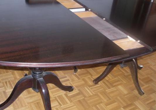 Mesa de comedor ovalada