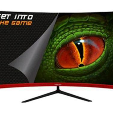 Monitor gaming led curvo 27 pulgadas