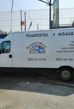 Portes y mudanzas transporteastur