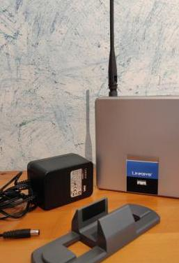 Router linksys cisco wireless-g adsl wag200g
