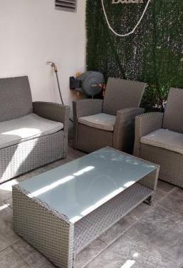 Conjunto sofás jardin