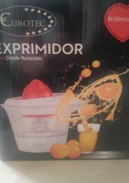 Eléctrico exprimidor de naranjas estrenar