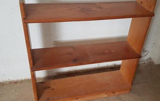 Estanteria 3 estantes madera