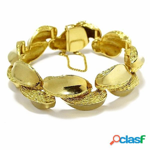 Pulsera cadena oro 18k