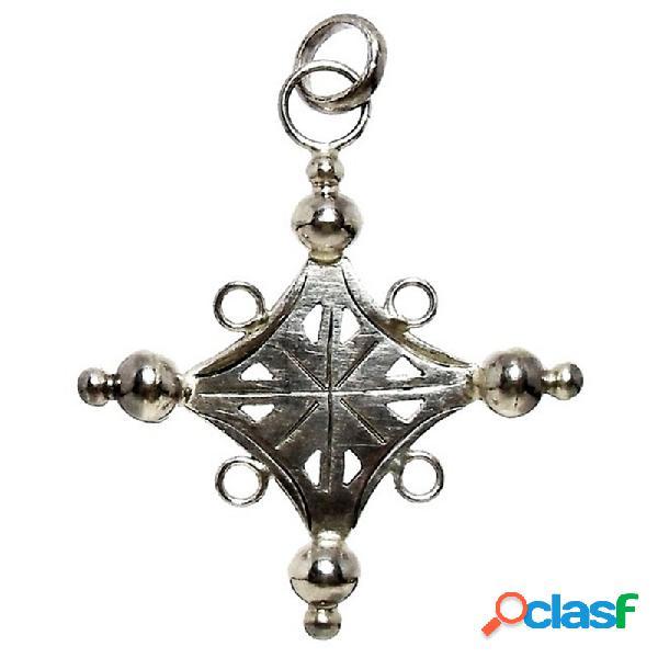 Cruz crucifijo plata ley 925m forma grande