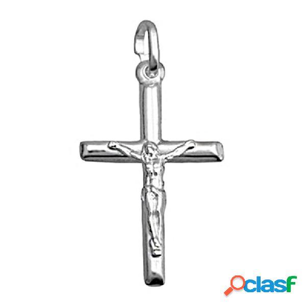 Crucifijo plata ley 925m cristo 30mm.