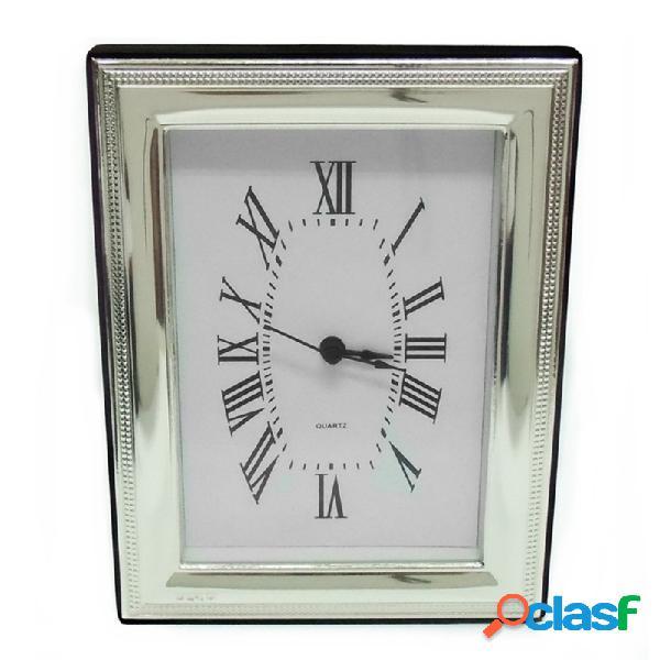 Reloj plata ley 925m. sobremesa