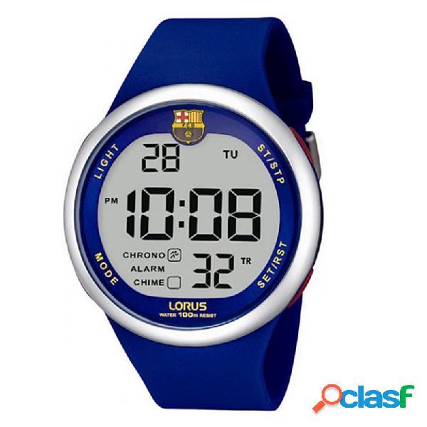 Reloj f.c. barcelona lorus hombre azul digital r2331hx9