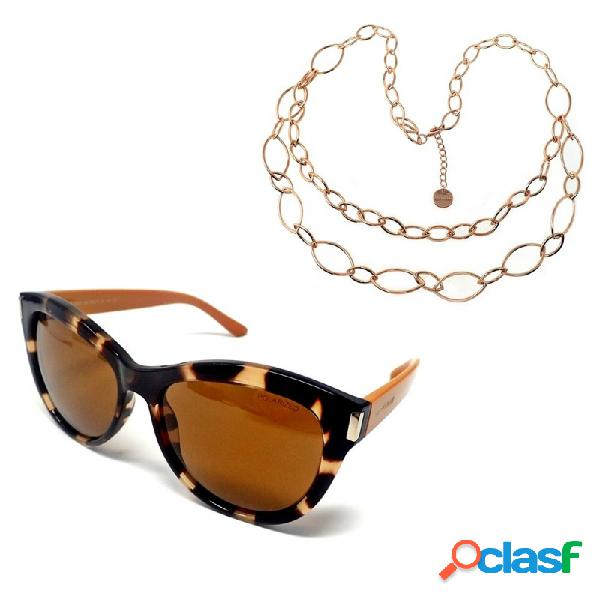 Juego pertegaz gafas sol pz20019 595 collar doble cadena