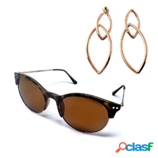 Juego pertegaz gafas sol pz20020 595 pendientes tears oval